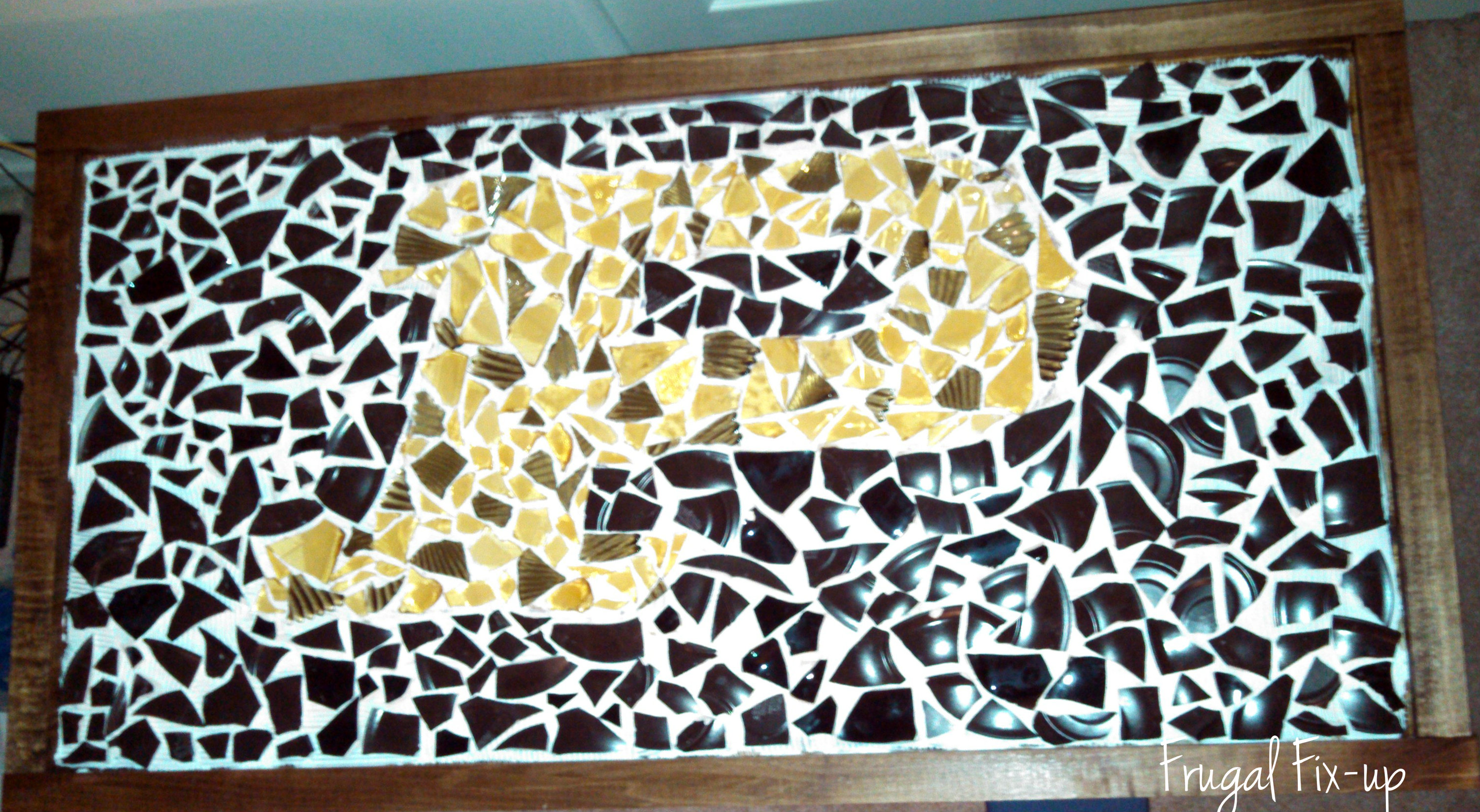 DIY: Mosaic Bar Top | Frugal Fix-up